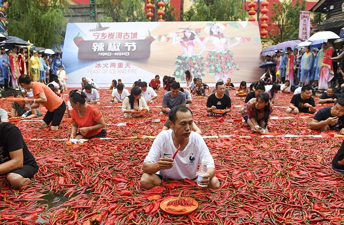 Провинция Хунань знаменита своей острой кухней.