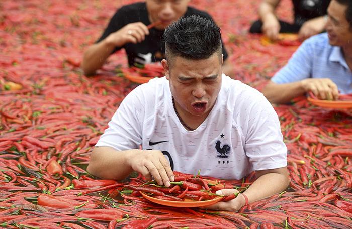 Необычный конкурс в Китае.