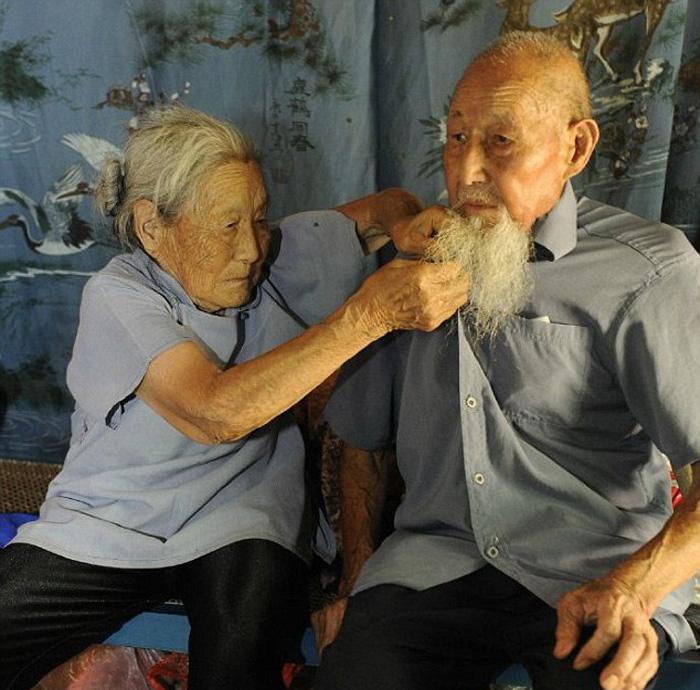 Вот уже 80 лет Кинлин и Лиши живут душа в душу.