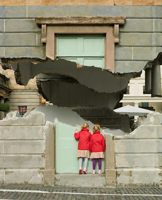 Take my Lightning but Don't steal my Thunder.  Автор: Alex Chinneck.