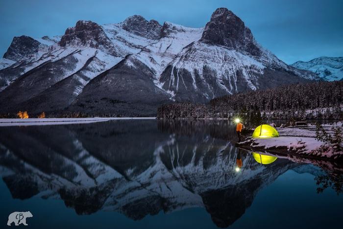 Холодные ночи в Канаде.