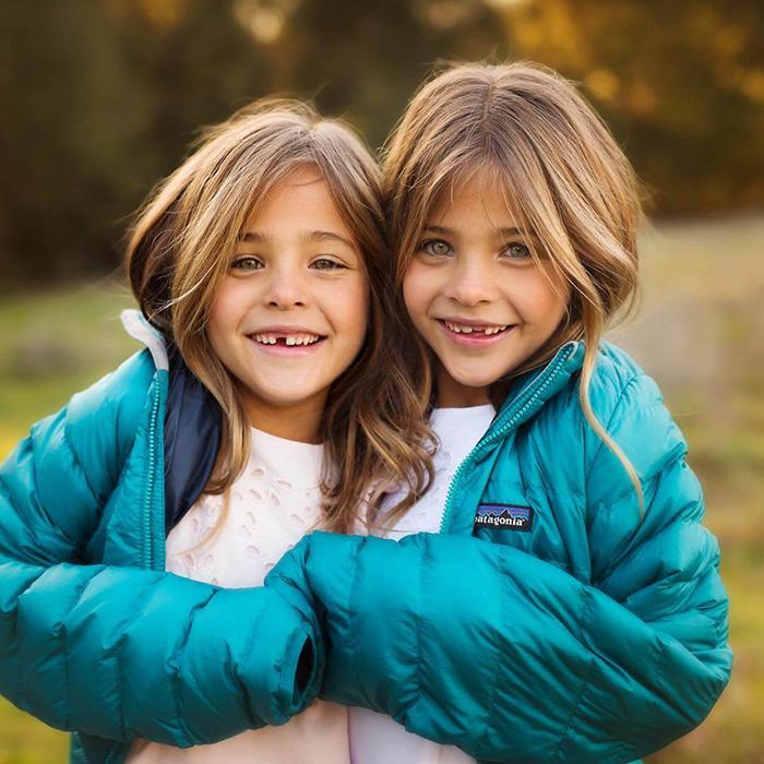 Сестры, за год ставшие профессиональными моделями. Instagram clementstwins.