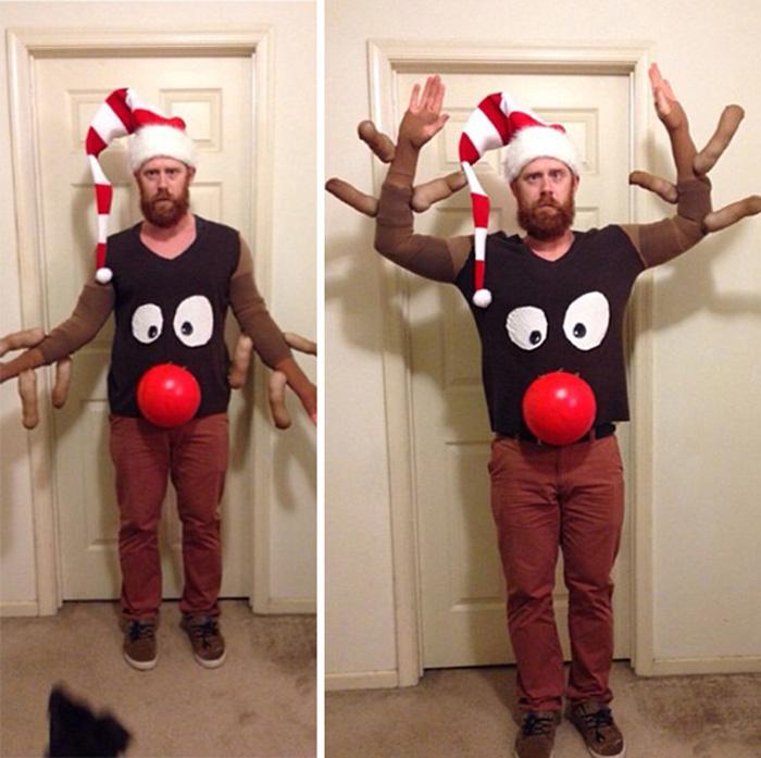 Прикольные костюмы на новый год своими руками взрослым