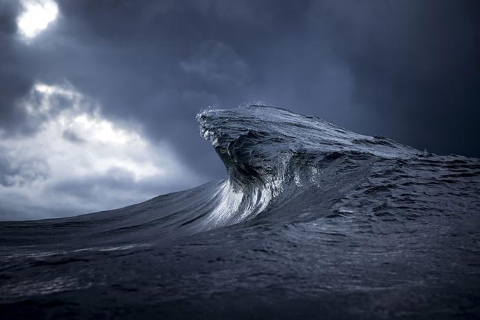 Океан в объективе Рэя Коллинза.