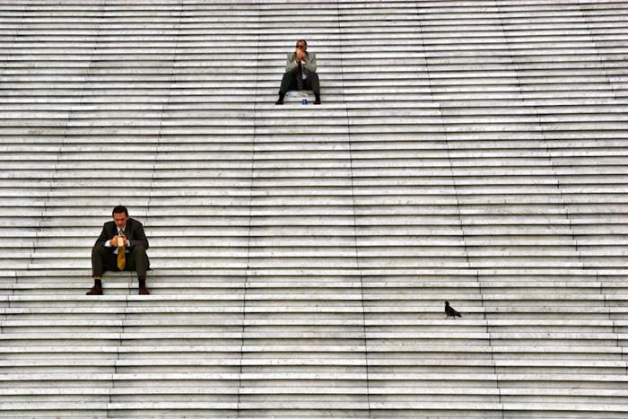 Обеденный перерыв. Автор фото: Stefano Corso.