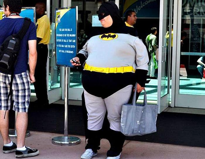 Бэтмен нынче уже не тот...
