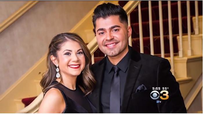 Джессика и Байрос несколько лет встречались, прежде чем жениться.