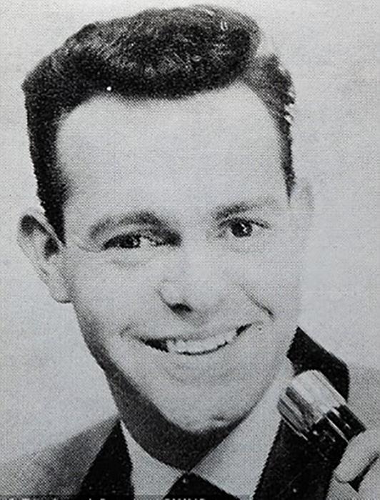 Рон Оуэн в молодости.