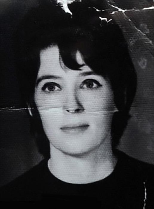 Рут Холт в молодости.