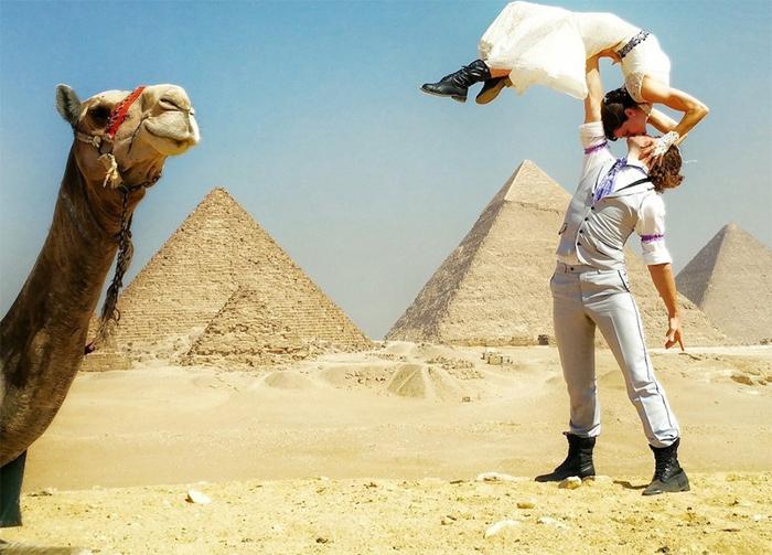 Свадьба в Египте.