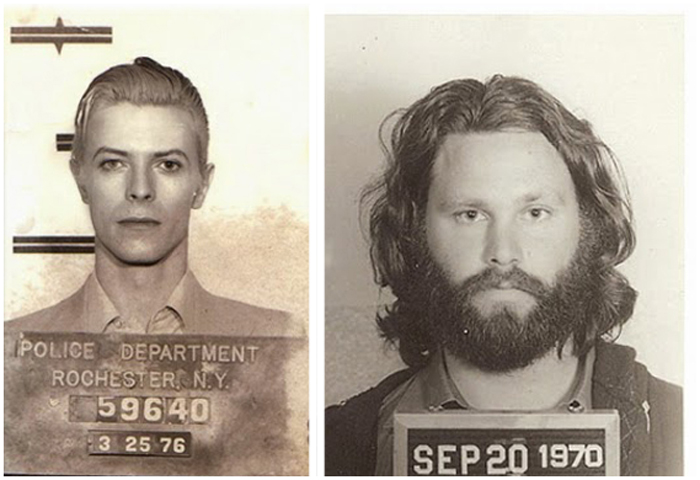 Фотографии знаменитостей под арестом.