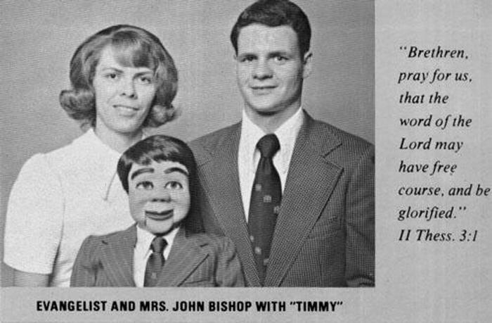 Кукла Тимми и его *родители*.