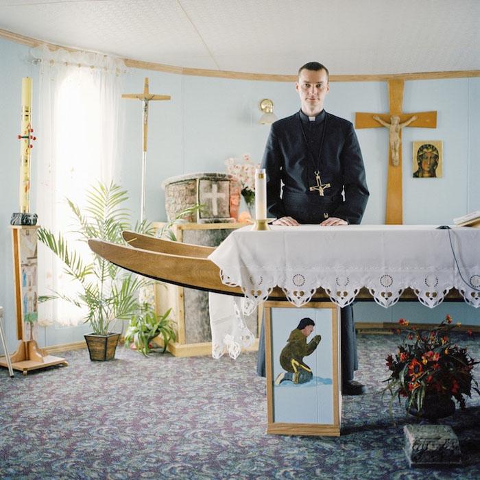 Отец Даниэль Шварц. Рипалс-Бэй, Канада, 2010.