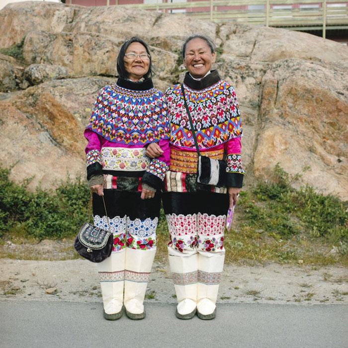 Дорте  и Эллен. Гренландия,  2013.