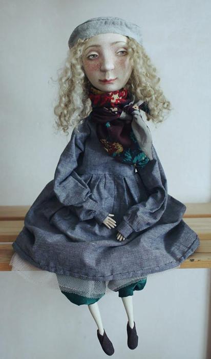 Лаура. Авторские куклы Марины Глебовой.