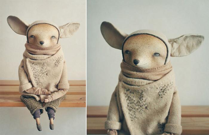 Фенек Ноа.  Авторские куклы Марины Глебовой.