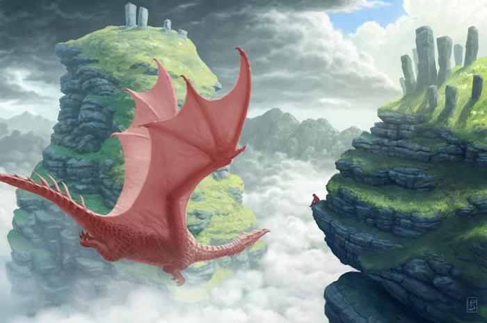 Место для наблюдения за драконами.
