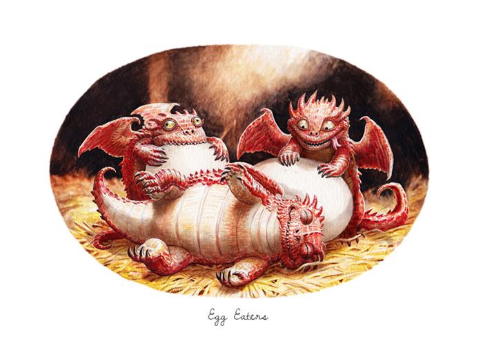 Пожиратели яиц.