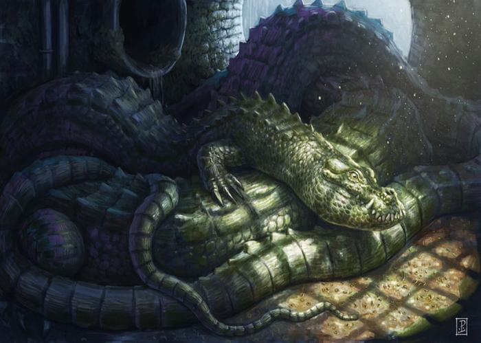 Сонный дракон от Линтона Левенгуда.