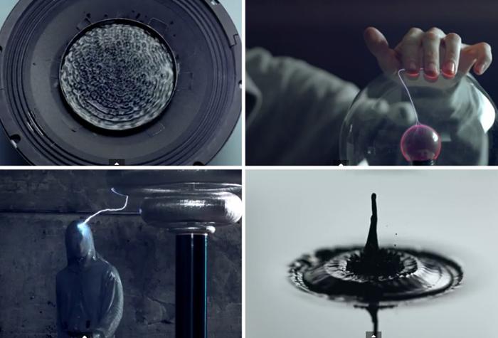 Видео Nigel Stanford, основанное на экспериментах по визуализации волн.