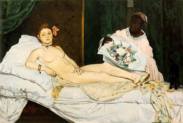 Эдуард Мане. Олимпия. 1863г.