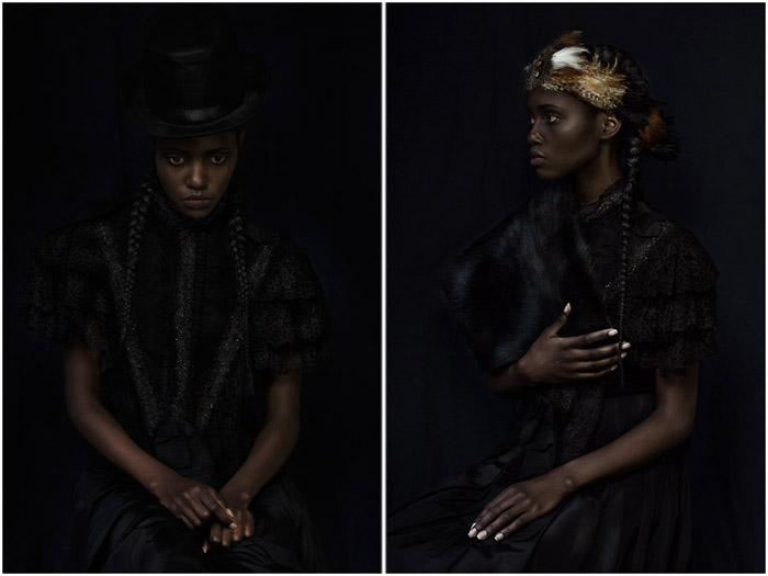 Для Сары - Африканской Принцессы. Автор проекта Дагмар ван Веегель.