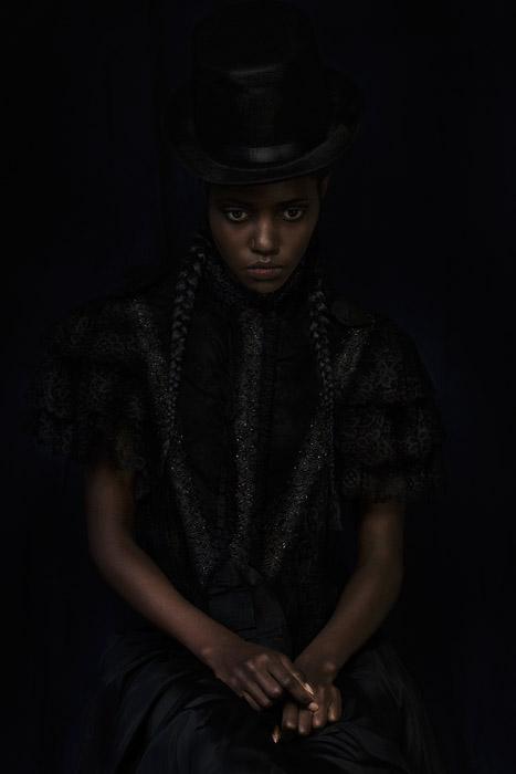 Фотопроект, вдохновленный историей Сары Форбс Боннет. Фото: Dagmar Van Weeghel.