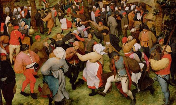Танцевальная лихорадка в Средневековье.