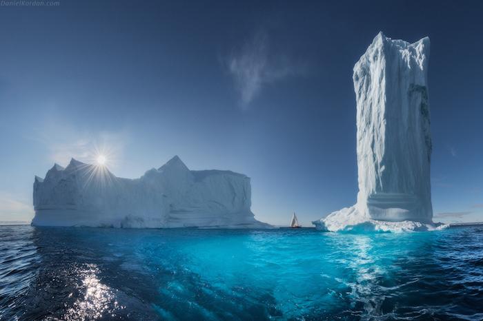 Гренландский небоскреб. Автор фото: Daniel Kordan.