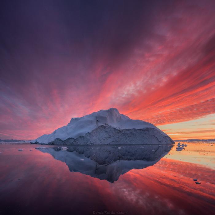 Закат. Автор фото: Daniel Kordan.