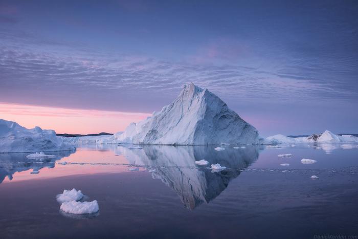 Ледник. Автор фото: Daniel Kordan.