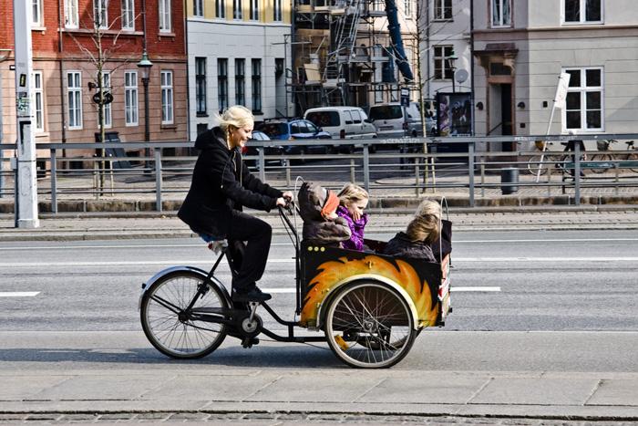 Кристиания-байк в Копенгагене.