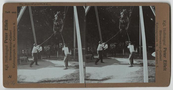 Дирехавсбаккен, или просто Баккен. Фото датировано 1901г.