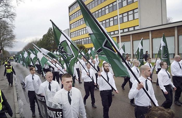 Неонацистское движение в Швеции, 2014 год.