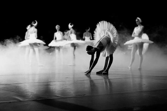 Балетная съемка от Дарьян Волковой.