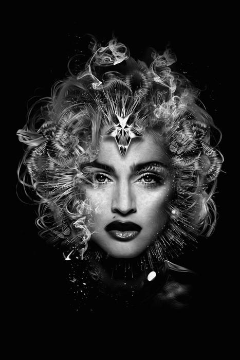 *Material Girl*. Мадонна. Автор: Nicolas Obery.
