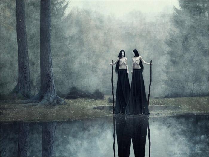 Темный лес. Автор: Daria Endresen.