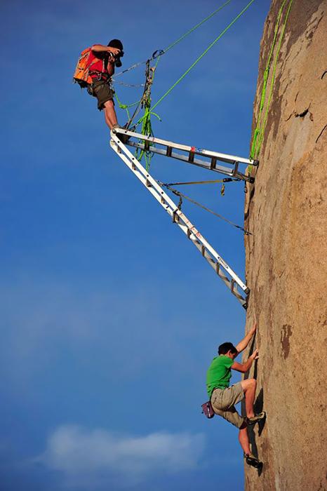 Corey Rich. Фото на экстремальной высоте.