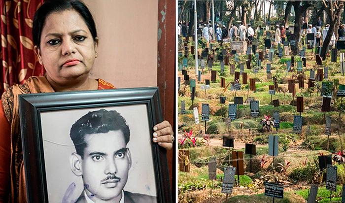 Проблема с захоронениями в Дакке.