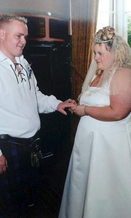 Свадебные фотографии Дженис и Уильяма Робертсон.