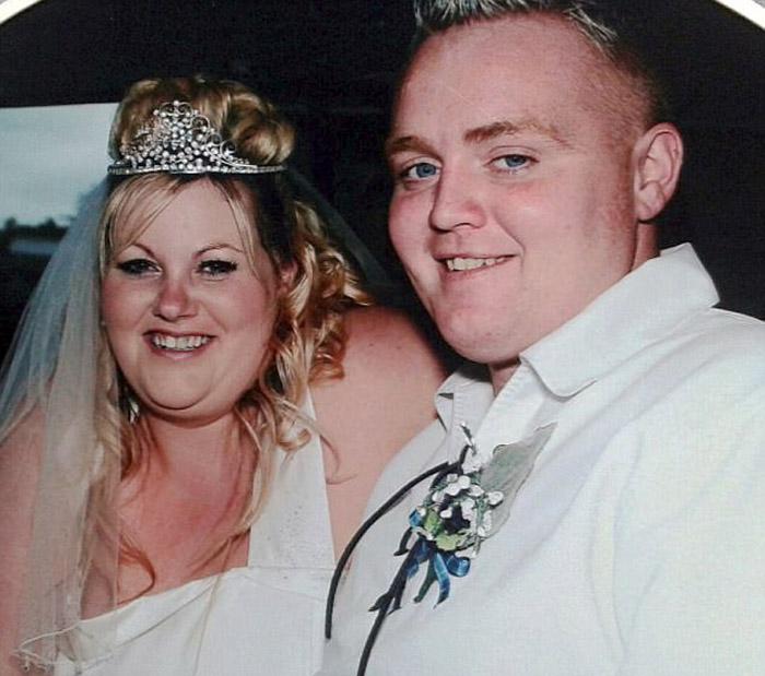Дженис и Уильям Робертсон десять лет назад.