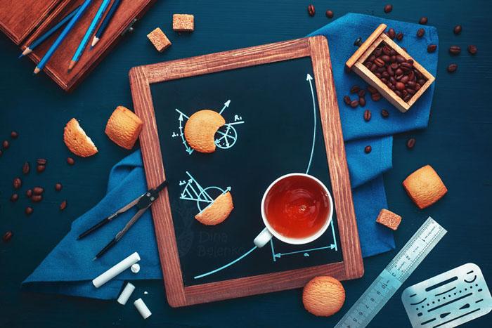 Геометрия в перерыве на кофе.  Фото: Dina Belenko.
