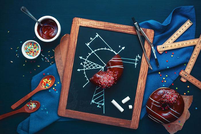 Пончиковый этюд. Фото: Dina Belenko.