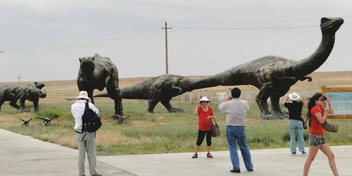 Тематический парк в Китае.