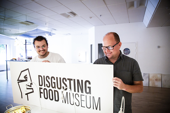 Музей Отвратительной Еды в Мальмё, Швеция.