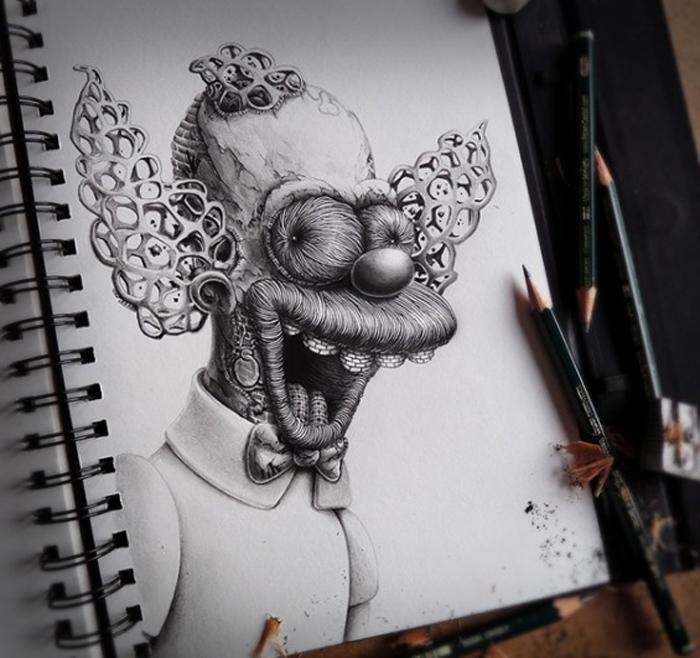 Зловещая семейка Симпсонов.