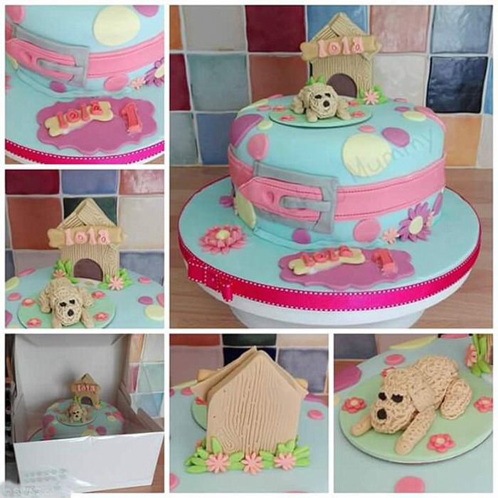 Торт на день рождения Лолы.