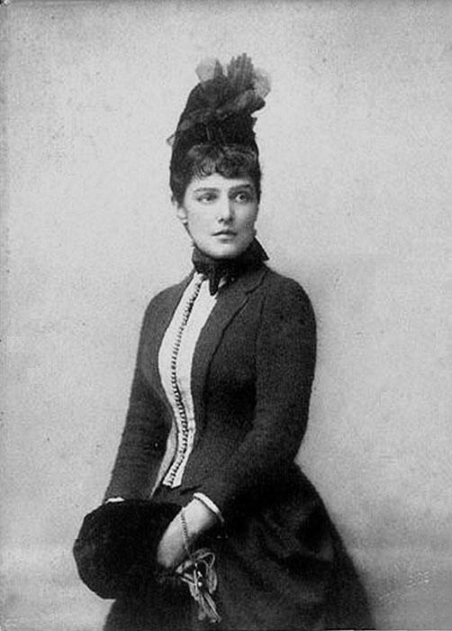 Дженни Спенсер-Черчилль, 1885 год.