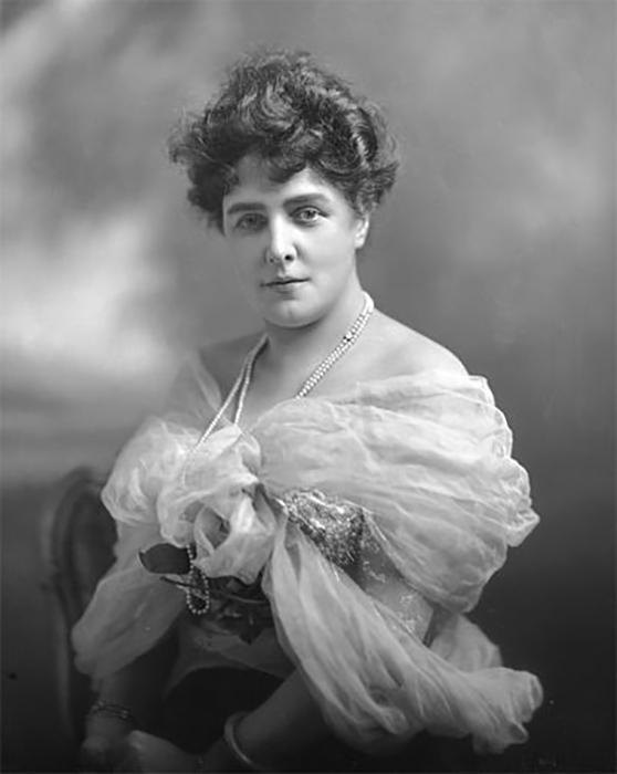 Леди Рэндольф Черчилль в декабре 1899 года.