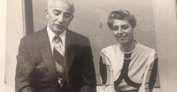 Сильвия со своим мужем Рейнольдом.
